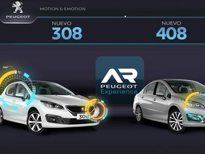 App AR Peugeot Experience
